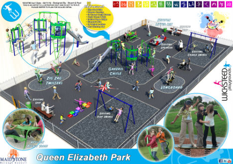 Wicksteed transforms outdoor play across Maidstone