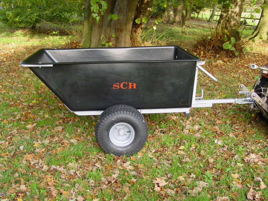 Large Capacity Plastic Trailer