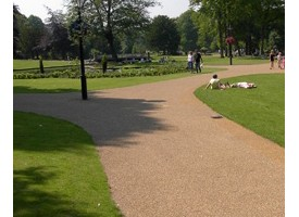 Resin bound & bonded surfacing aggregates