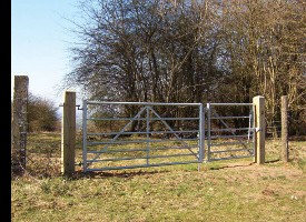 2 in 1 Combination Gate