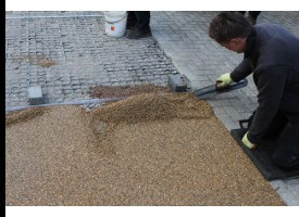 EcoGrid UV Resin Bound Surfacing System