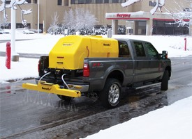 SnowEx V-Maxx Salt and Grit Spreaders