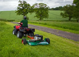 Wessex ATV accessories – the AF flail mower