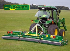 Swift Roller Mower - Winged, Three Point Linkage