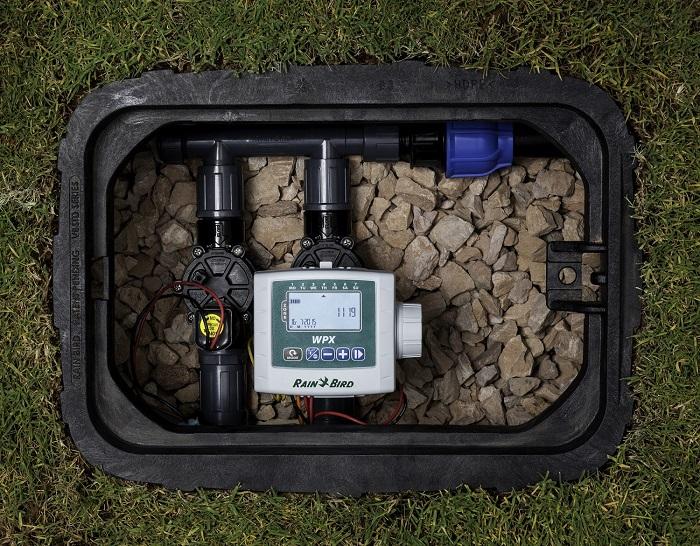 Versatile battery-powered irrigation controller