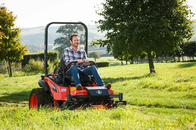 Spring into action with Kubota UK's Cashback Domestic Ride-on-Mower offer