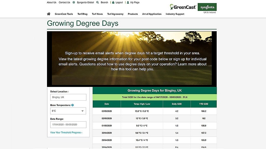 New GDD Calculator aids accurate decision making