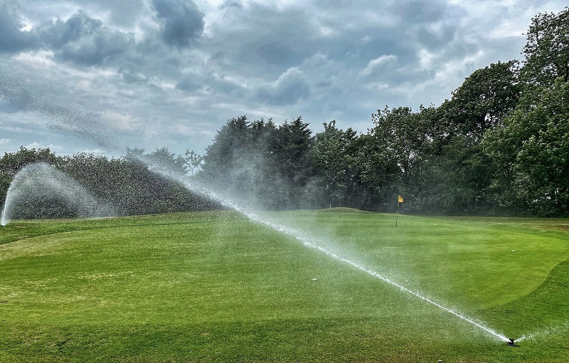 New Hunter Irrigation system makes instant impact