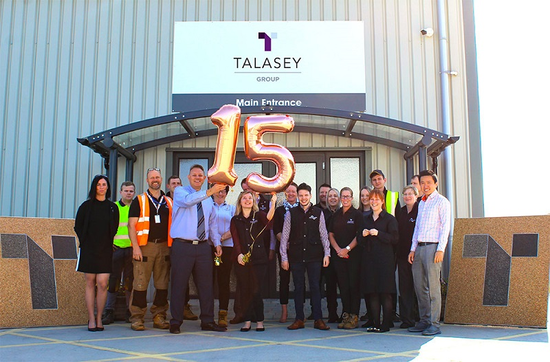 Talasey Group celebrates 15 years in business