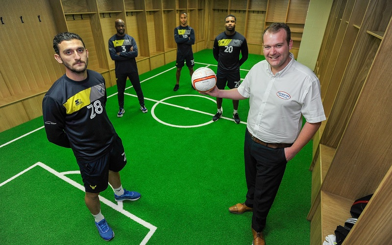 Oxford United installs leading brand of artificial grass