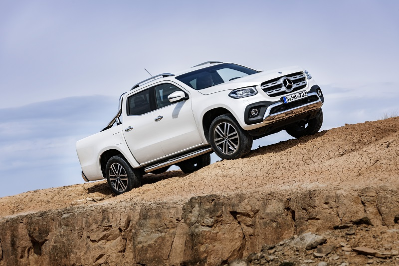 Pickup meets lifestyle – the Mercedes-Benz X-Class