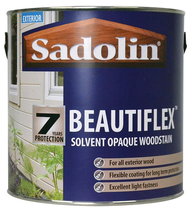 Autumn's the time for Sadolin's new Beautiflex
