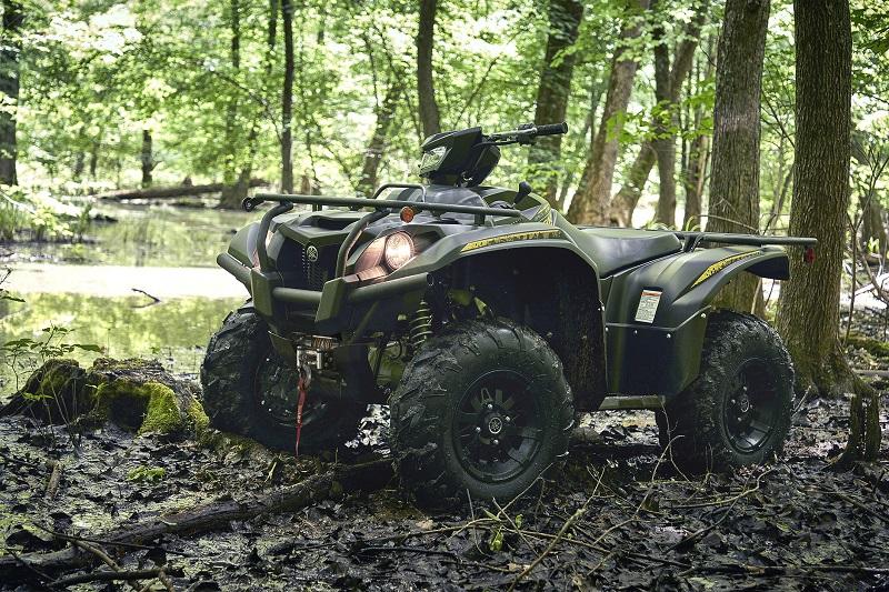 Yamaha introduces new tracking device to keep ATVs safe