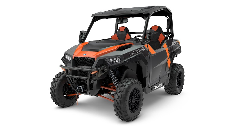 The 2018 Polaris GENERAL 1000 Deluxe with ABS unveiled