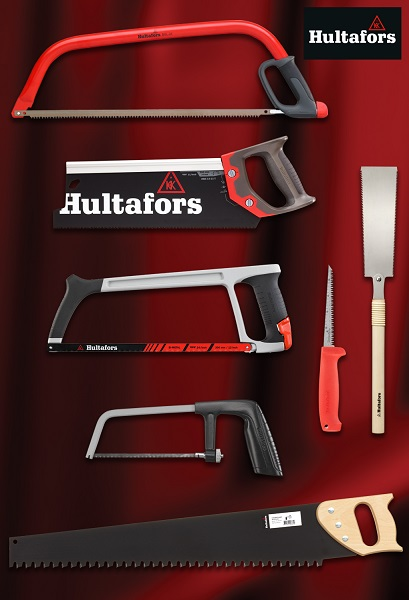 Precision cutting and control with Hultafors Tools' newest range of hand saws
