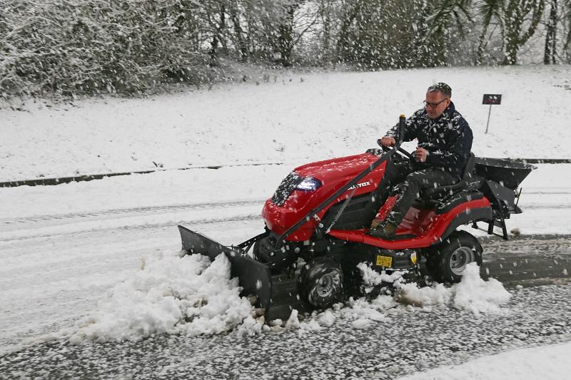 Countax has Winter's garden tractor