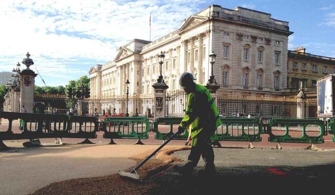 Terrabound on track at Buckingham Palace