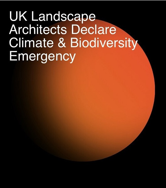 Landscape architects declare climate and biodiversity emergency