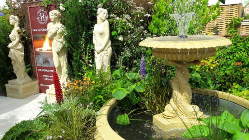 New Italianate Fountain launches at the Chelsea Flower Show