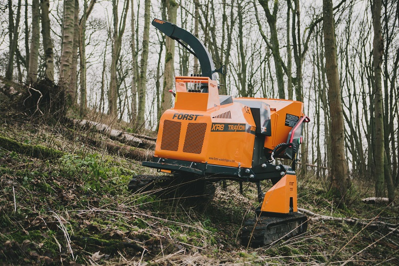 New specialist woodchipper by 3fD