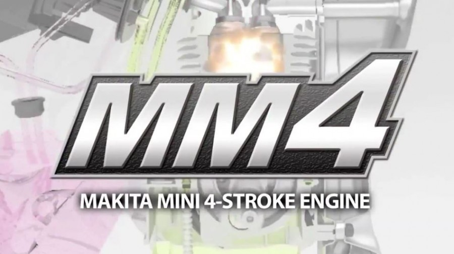 Makita Mini 4 Stroke Engine MM4 Series
