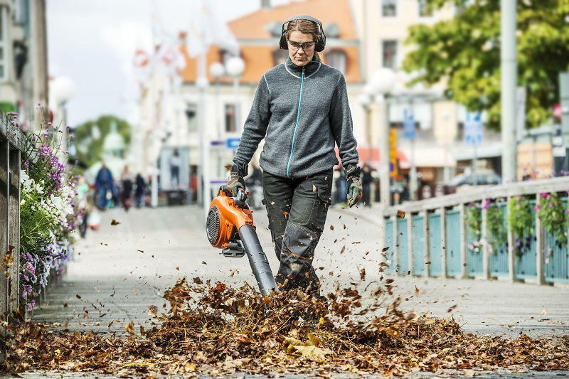 Combatting Winter: Husqvarna blowers and vacuums