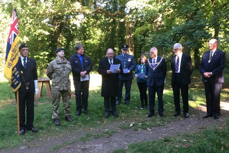 Spaces across the UK marking Armistice centenary