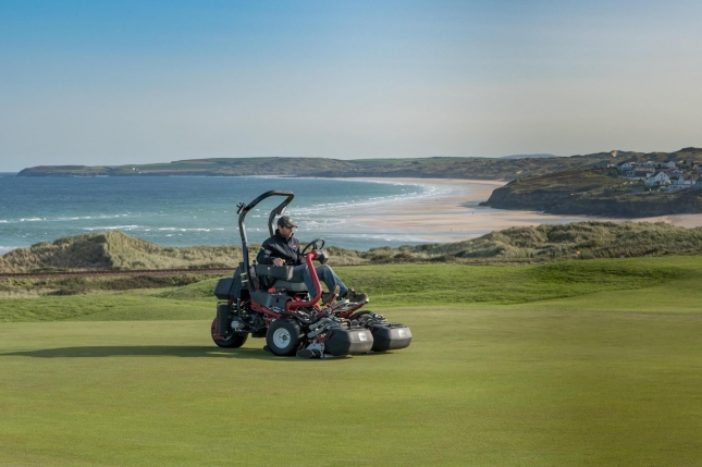 West Cornwall invests in efficient Toro machinery
