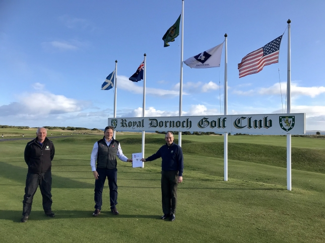 Another decade with Toro for Royal Dornoch