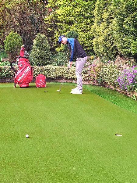Success on the 14th for player with Huxley Golf