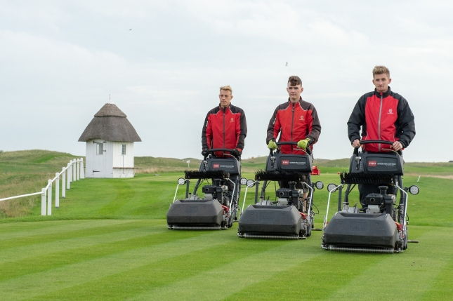 Toro and Reesink Turfcare provide equipment and support for The Open at Royal St. George's