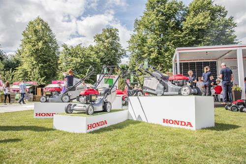Honda to celebrate 40 years of making mowers at shows