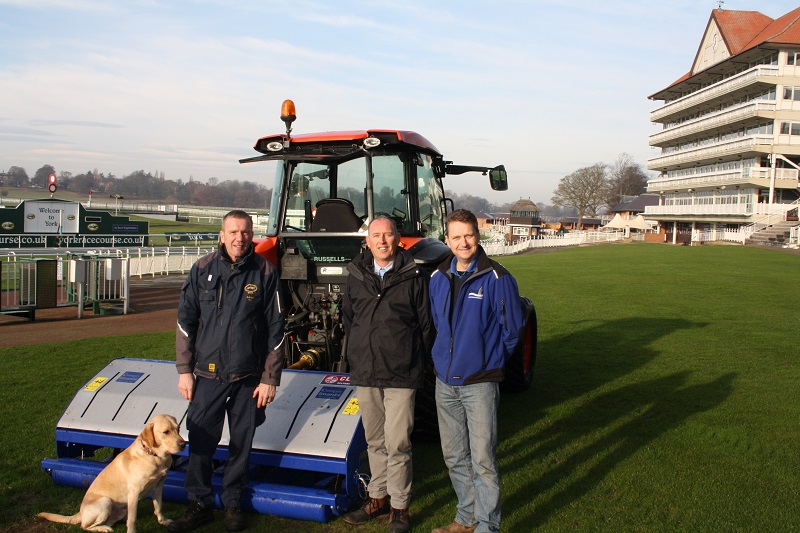Campey help keep the channels open at York Racecourse