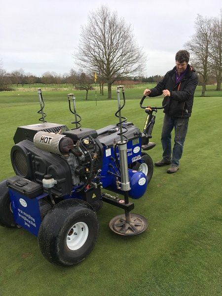 Campey Turf Care Systems announce two golf demo days