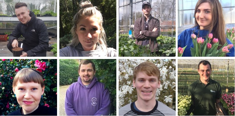 DCF invests £8,500 in students of horticulture