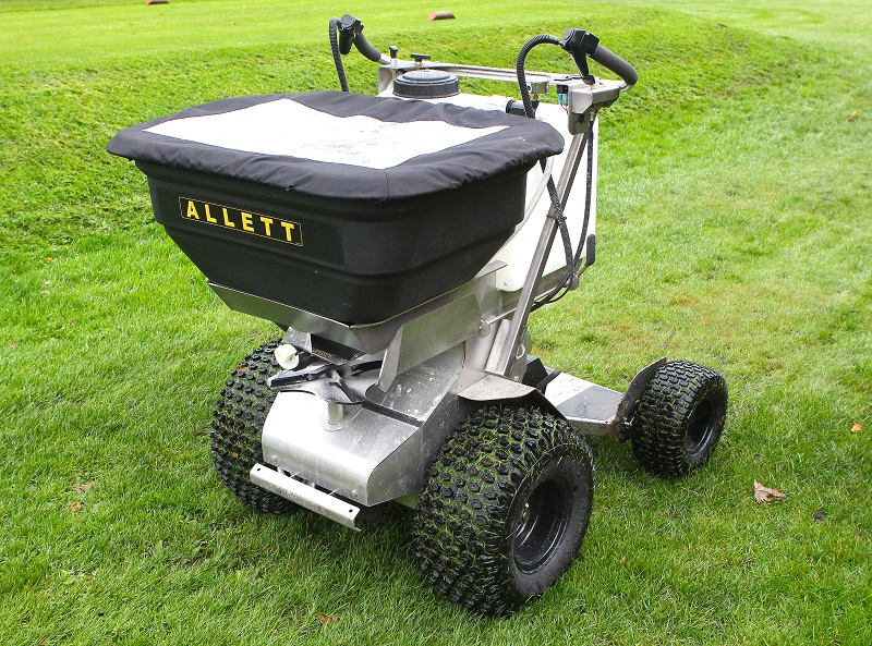 Allett Mowers launch new stand on tractor utility vehicle
