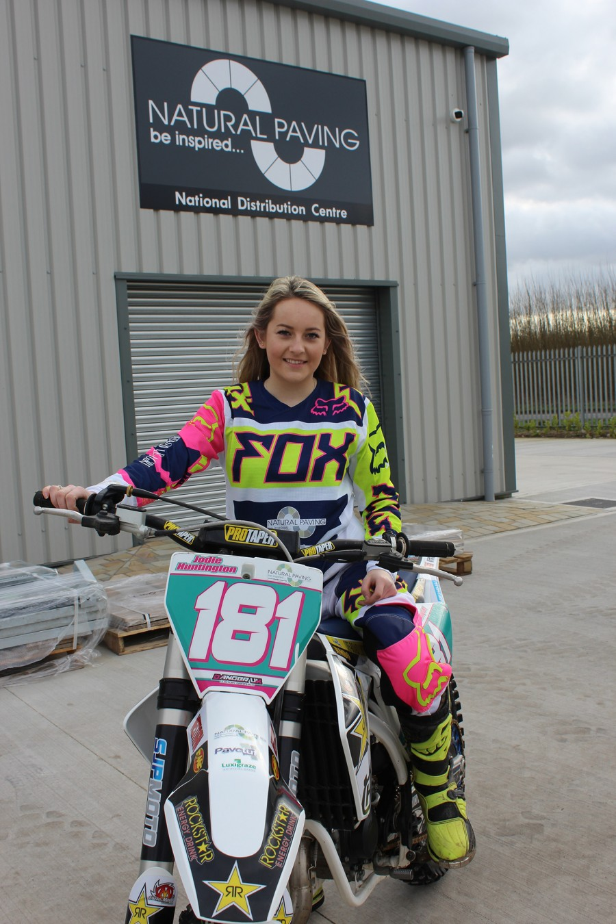 Natural Paving Products TS revs up with new apprentice sponsorship deal