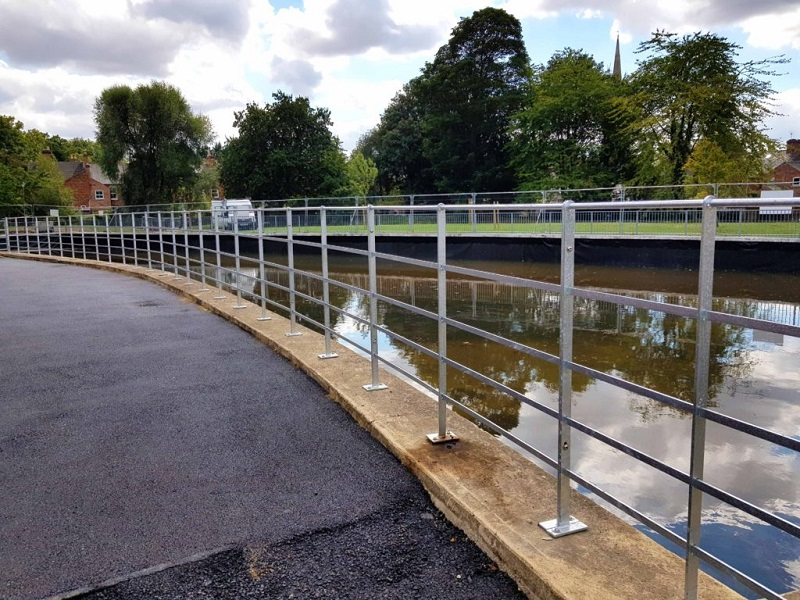 Railings restored in World War I Memorial Park