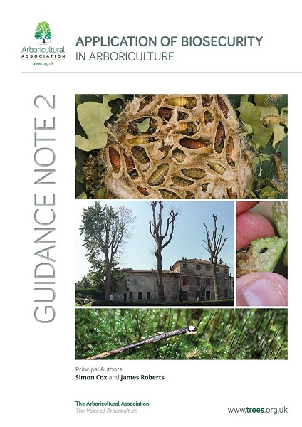 Application of biosecurity in arboriculture guide launched