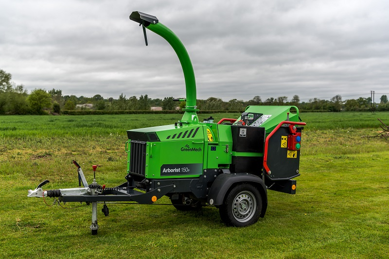 Petrol engine offered as alternative for GreenMech's Arborist 150