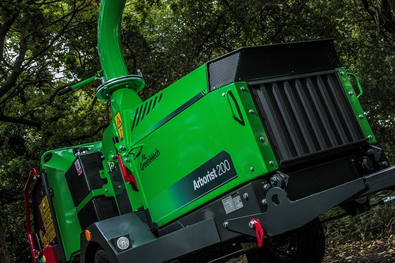 GreenMech to showcase latest range of chippers at the Arb Show