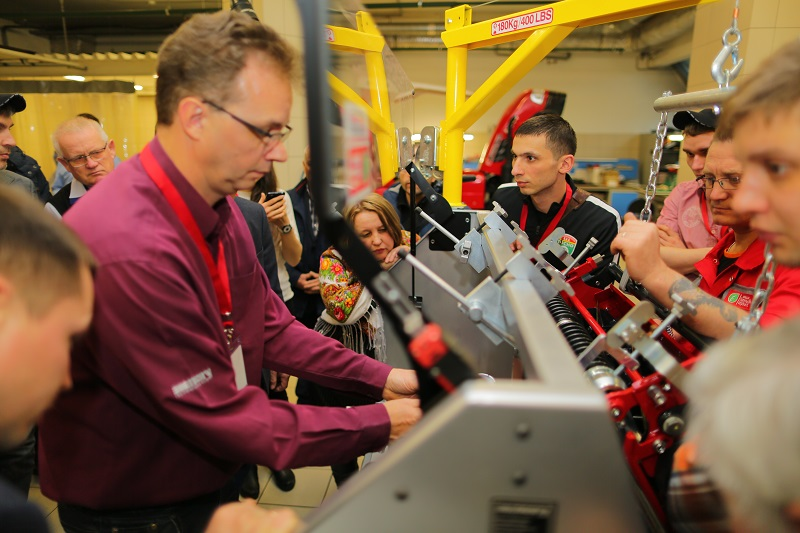 Foley United's brand Neary Grinders up the game in Russia