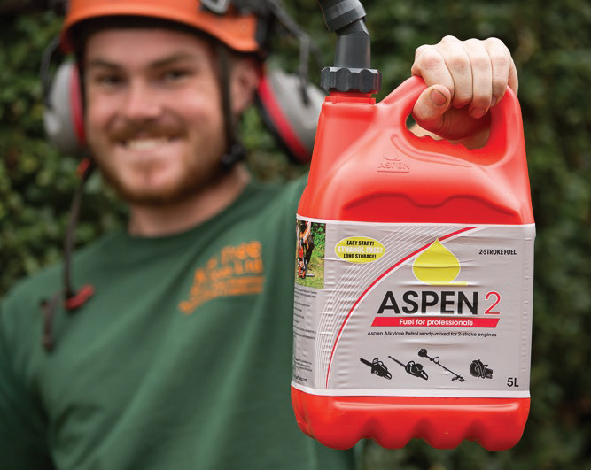 Aspen is better for man machine and the environment