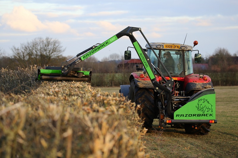 Razorback launch new range of flail and reach mowers