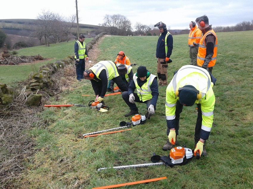 BALI-NCF and STIHL join forces to reduce operator accidents