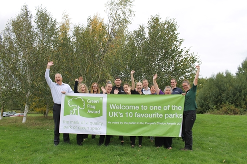 Green Flag Awards reveal public's favourite parks