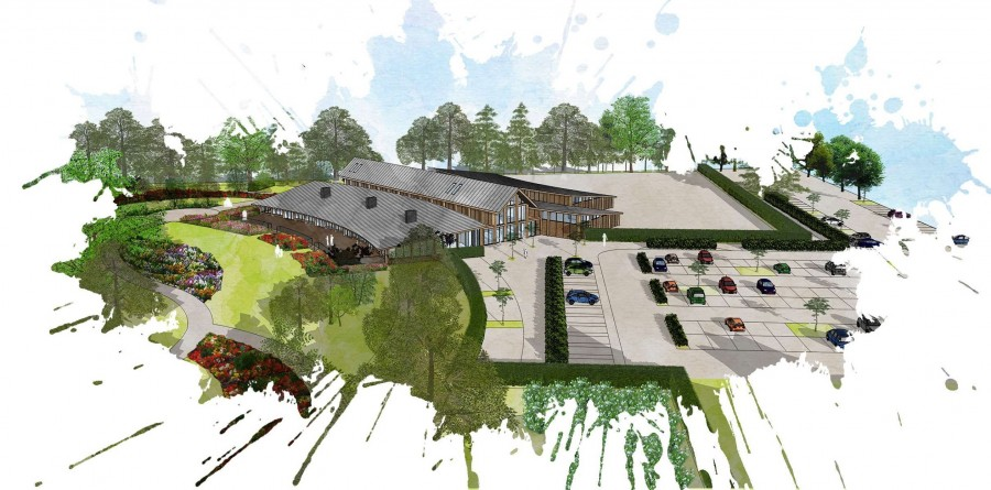 Barcham's plans for arboretum and vistor centre given green light by council planning committee