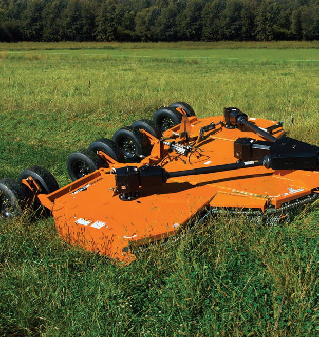 Woods Batwing mower is second to none