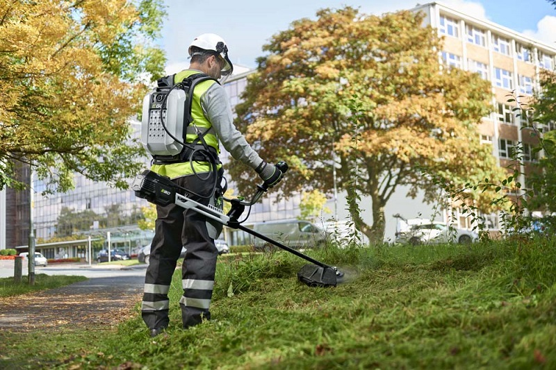 EGO's commercial cordless garden tools offer power and performance to ground care professionals