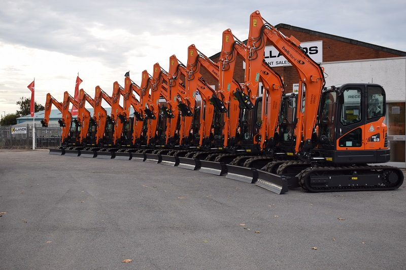 Bell Plant adds new Doosan mini-excavators